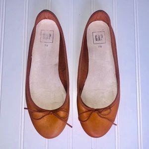 GAP Cognac Ballet Flats